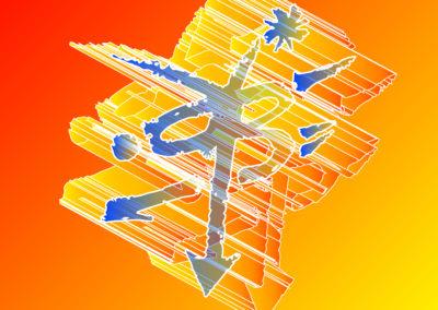 Y Arrow B